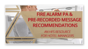 Fire Alarm PA Pre-Recorded Messages